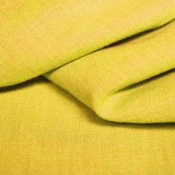 Washed linen - yellow