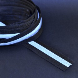 Invisible zipper coil by...